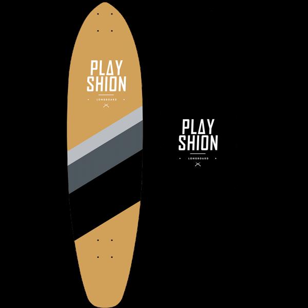 Лонгборд SURF BLACK LINE - фото 8981