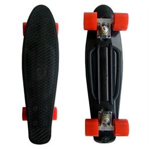 Пластборд ecoBalance черный с красными колесами