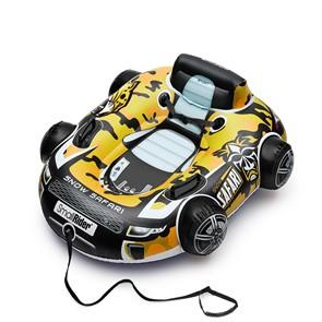 Инновационный бескамерный тюбинг (надувные санки) Snow Safari 2 желтый