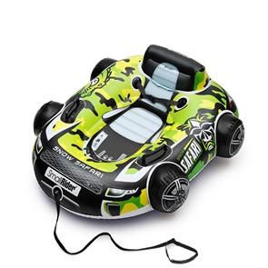 Инновационный бескамерный тюбинг (надувные санки) Snow Safari 2 зеленый