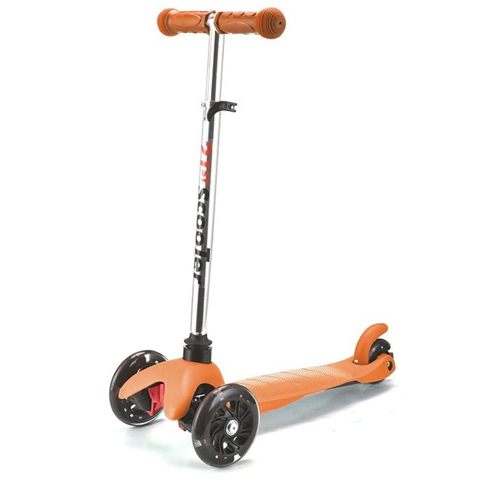 Трехколесный самокат для детей оранжевый 21st Scooter Mini SKL-06AH - фото 4605
