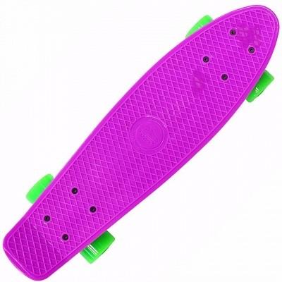 """Пенниборд Shark 22"""" фиолетовый - фото 4944"""