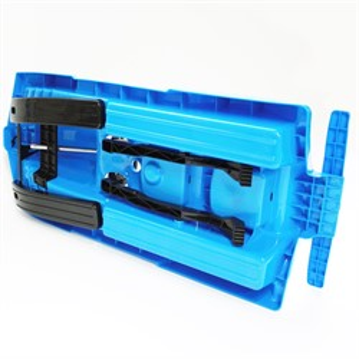 Пластиковые санки Gimpel формула синие - фото 5133