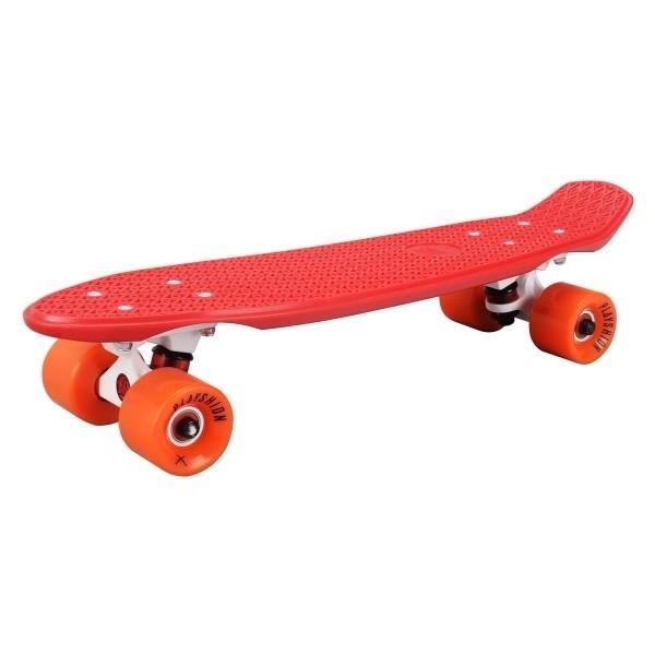 """Скейтборд пластиковый Playshion 22"""" красный - фото 6544"""