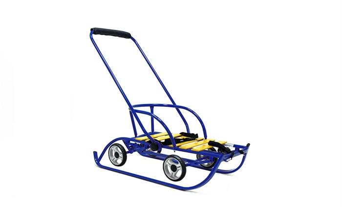 СаниМобиль Премиум (на больших колесах) синий - фото 6728