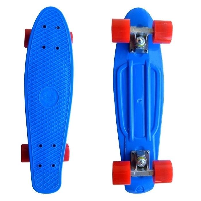 Пластборд ecoBalance синий с красными колесами - фото 6848