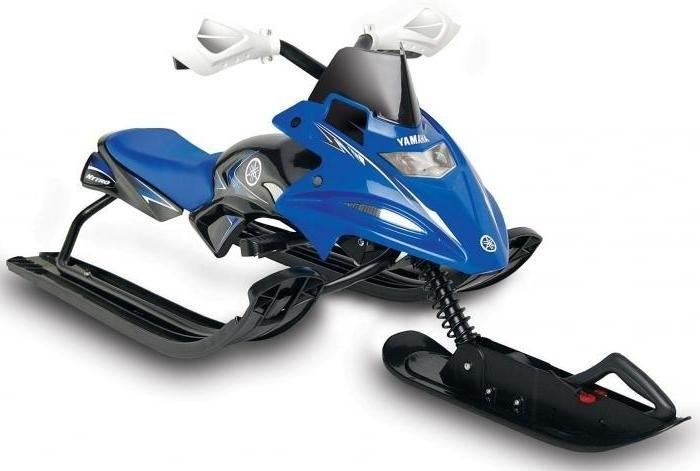 Снегокатдля детей FX Nytro (Yamaha) синий - фото 6881