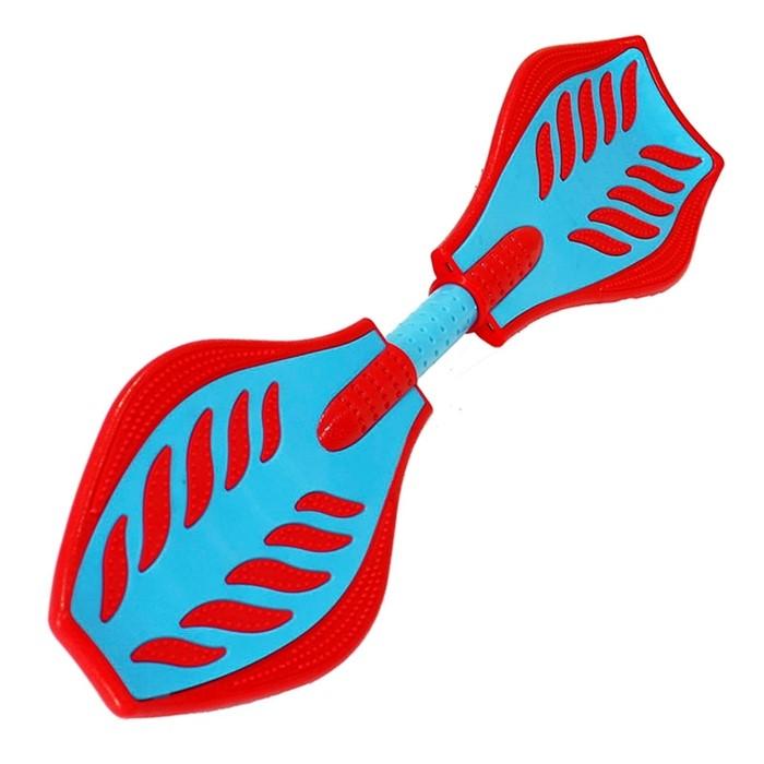 Скейт Рипстик waveboard сине-красный - фото 7681