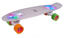 Скейтборд Hudora Skateboard Retro Rainglow 12134 - фото 8004