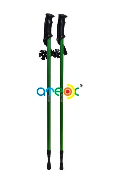 Палки для скандинавской ходьбы Ateox SP058 зеленые - фото 8410