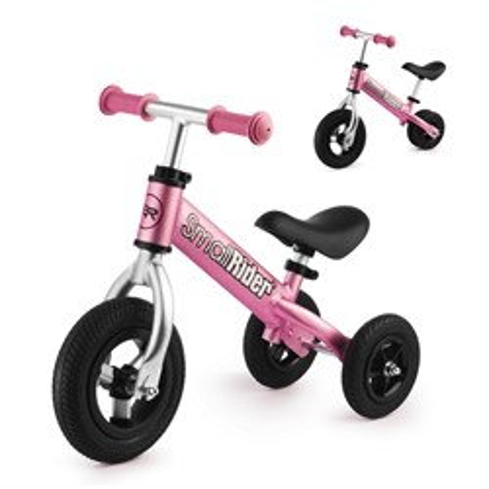 Беговел-каталка для малышей Small Rider Jimmy розовый - фото 8923