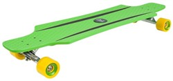 Лонгборд HUDORA Longboard CruiseStar green - yellow - фото 9001