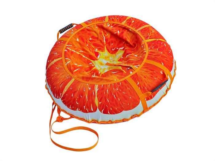 Тюбинг 95 см Сочный Апельсин - фото 9023