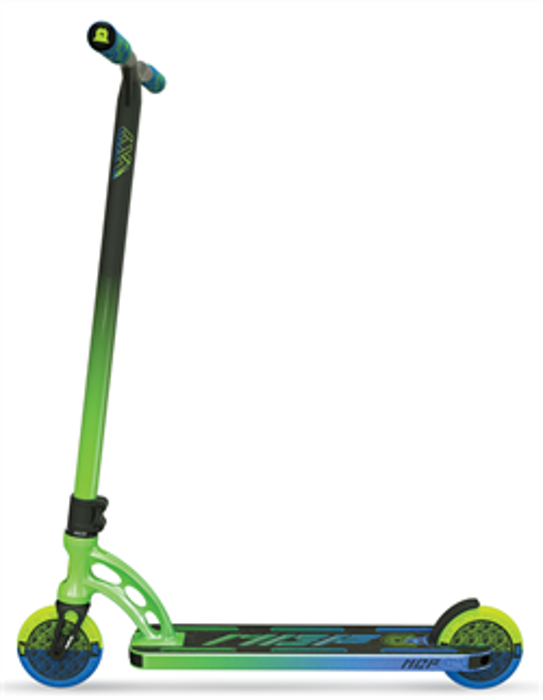 Трюковый самокат MGP Madd Gear VX9 TEAM SCOOTER 4.8 x 20 Inch hydrazine, Ethanol, зелено-голубой - фото 9356