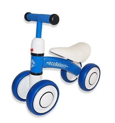 Беговел каталка ecoBalance Baby синий - фото 9374