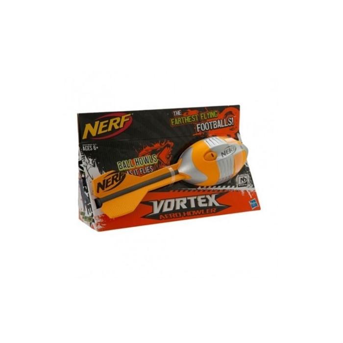 Мяч Nerf Vortex Howler для бросков Оранжевый - фото 9698