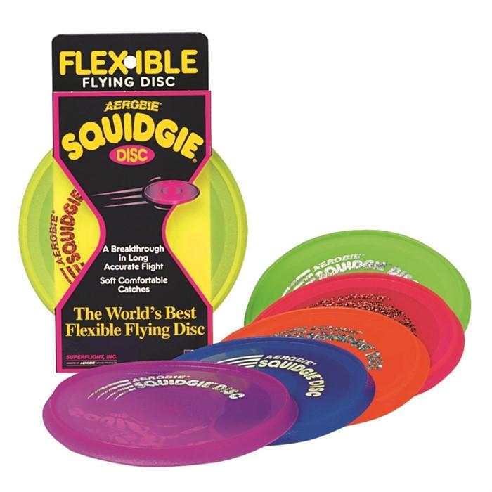 Мягкий летающий диск (фрисби) Aerobie Squidgie - фото 9918