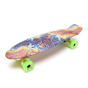 """Скейт 22"""" светящиеся колеса Firewave TLS-401G Triumf Active"""