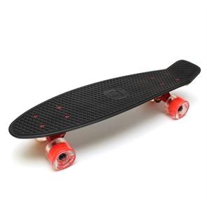 """Скейт 22"""" светящиеся колеса Triumf Active черный TLS-401L Black"""