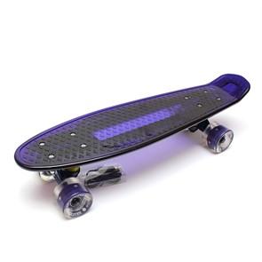 "Скейт 22"" светящийся Triumf Active синий TLS-403 Blue"