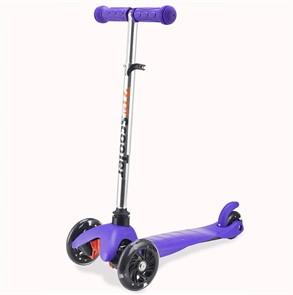 Трехколесный самокат для детей фиолетовый 21st Scooter Mini SKL-06AH