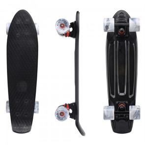 """Скейтборд пластиковый Playshion 22"""" черный"""