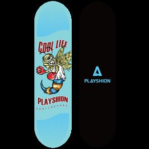 Скейтборд COOL LIFE голубой