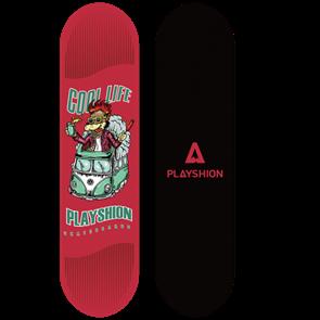 Скейтборд COOL LIFE красный