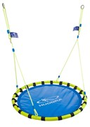 Качели HUDORA Nest swing Alu 120, blue/yellow 72157