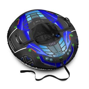 Тюбинг Small Rider Asteroid Quadro 4x4 (Квадроцикл) синий