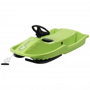Снегокат-санки Stiga Snowpower Steering Sledge Green Black зеленый