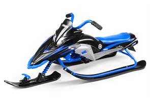Детский снегокат Yamaha Apex Snow Bike MG 2020 мягкое сиденье черно-синий